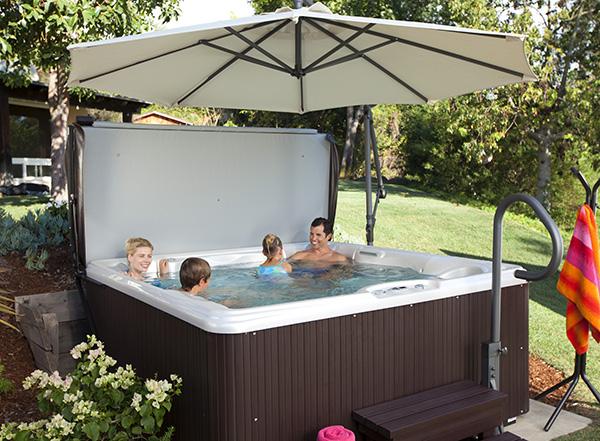 Tempo Pearl Espresso Hot Tub