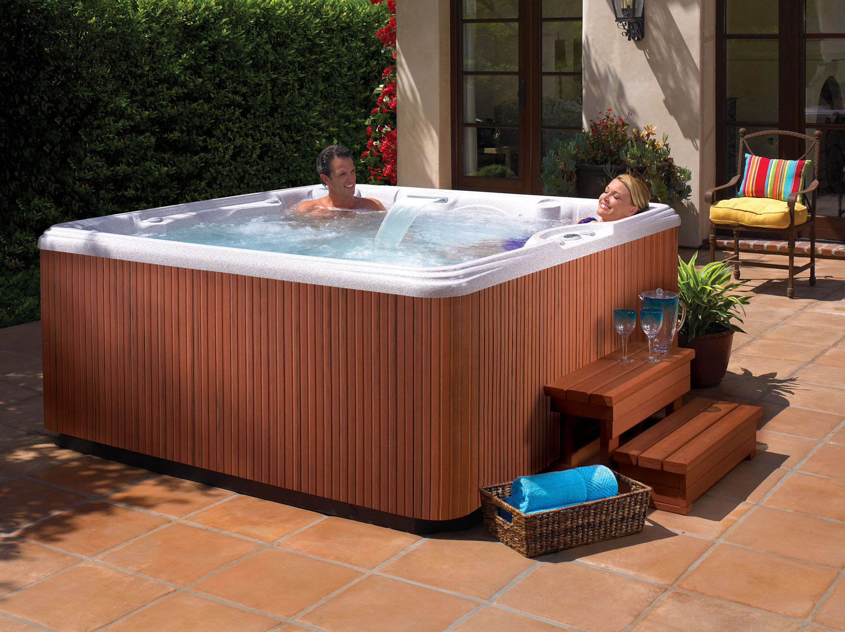 Rhythm 7 Person Hot Tub Northern Spas Outlet