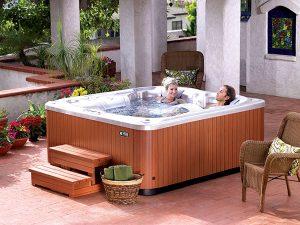 Glow Hot Tub