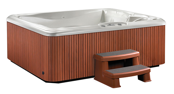 Stride Pearl / Redwood Hot Tub