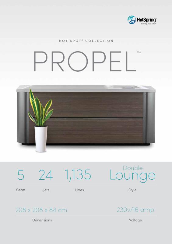 2020 Hot Spot Propel Spec Sheet - 50Hz English